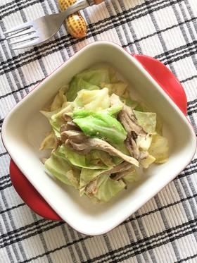 キャベツと舞茸の作り置きサラダ。