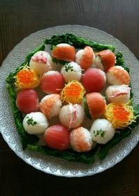 雛祭りに❤可愛く手毬寿司❤