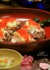 赤米のちらし寿司