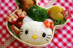 キティちゃん弁当(キャラ弁)