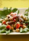 ミックスビーンズと野菜のサラダ