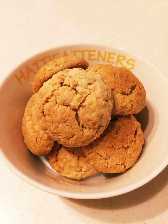 節分豆でサクサククッキー