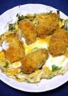 簡単!カキ丼(カキの卵とじ)牡蠣風味