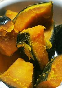 冷凍かぼちゃの煮物〜ホクホクになる煮方ღ