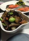 ほくほく山芋とヒジキの煮物