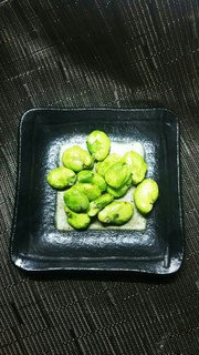 簡単!簡単!空豆の素揚げの写真