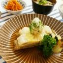 豚肉と白菜と油揚げのミルフィーユ煮