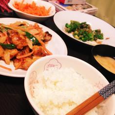鶏肉と野菜のオーロラソース簡単献立