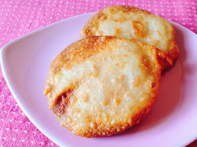 素朴な味!ビスケットの天ぷら(牛乳編)
