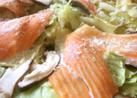 春キャベツと鮭のバタポン蒸し