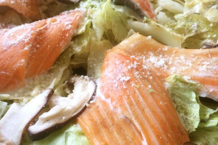 キャベツ 鮭