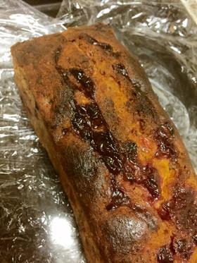 リンゴンベリーのパウンドケーキ