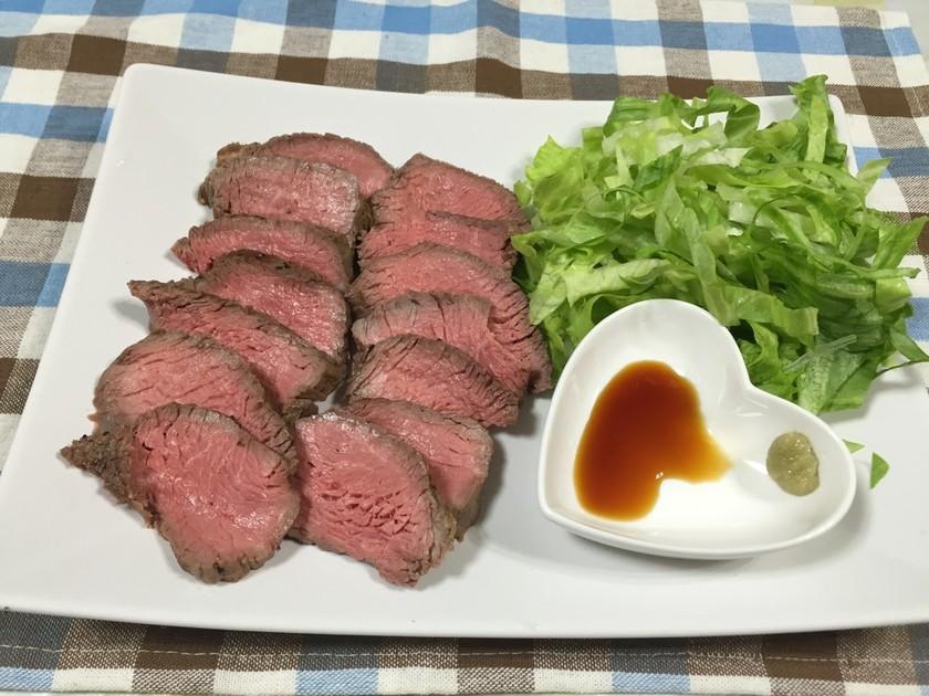 ダイエット♪赤身肉でローストビーフ