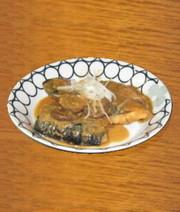 塩サバの味噌煮の写真