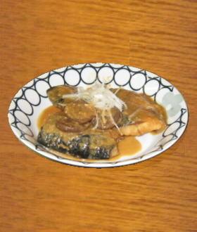 塩サバの味噌煮