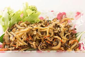ヤーコン・椎茸の南蛮
