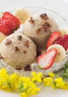 血糖値が気になる人のために作ったアイス
