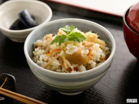 超簡単♪根野菜の炊き込みご飯