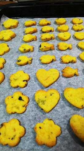 子供と作ろう!簡単かぼちゃクッキー
