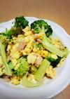 簡単☆ブロッコリーとツナ&卵の炒め物