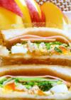 沼さん風サンドイッチ