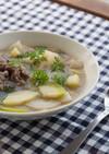 白人参(ルナーホワイト)の上品スープ