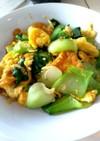 中華料理☆チンゲンサイと卵の炒め物
