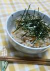 レンジで基本の炊き込みご飯(茶碗6杯分)