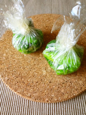 【作り置き】小松菜の野菜玉