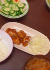 簡単時短♡鶏むね肉のオイスター照り焼き