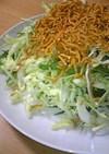 ポリポリっ♪キャベツのごまサラダ
