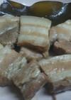 出汁昆布入り豚の角煮