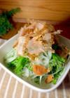 新玉ねぎと水菜のおかかサラダ
