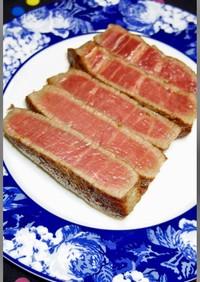 高級牛ヒレステーキ肉の柔らかい焼き方