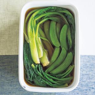 緑野菜のだしびたし
