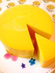 お砂糖なし!低糖質南瓜のレアチーズケーキの写真
