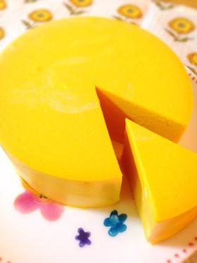 お砂糖なし!低糖質南瓜のレアチーズケーキ
