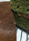 炊飯器で抹茶のガトーショコラ(^-^)