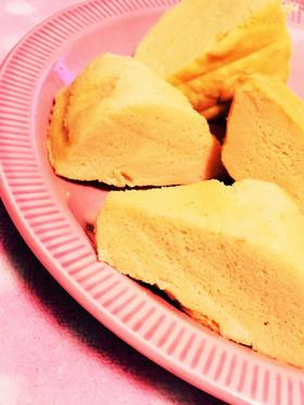 糖質制限◆主食に、しっとりレンジ蒸しパン