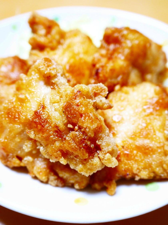 油はフライパン5mm!鶏むね肉の唐揚げ