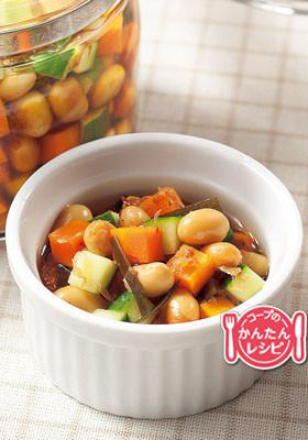 大豆の和風ピクルス