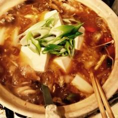 簡単☆酸辣湯麺 サンラータン鍋  鍋つゆ