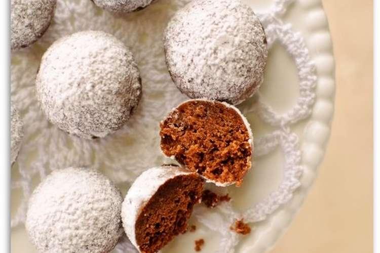 ボール クッキー スノー スノーボールクッキー(いちご)