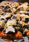 コストコのプルコギでプルコギピザ