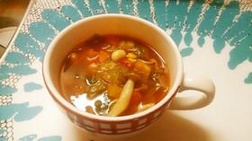 食べるトマトスープ