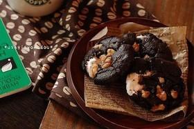 スタバ風☆ココア&マシュマロクッキー