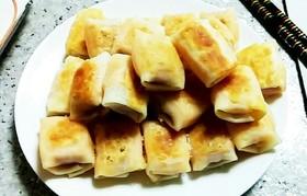 餃子の皮で節約ウィンナーチーズ巻き