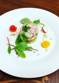 鯛のマリネの前菜