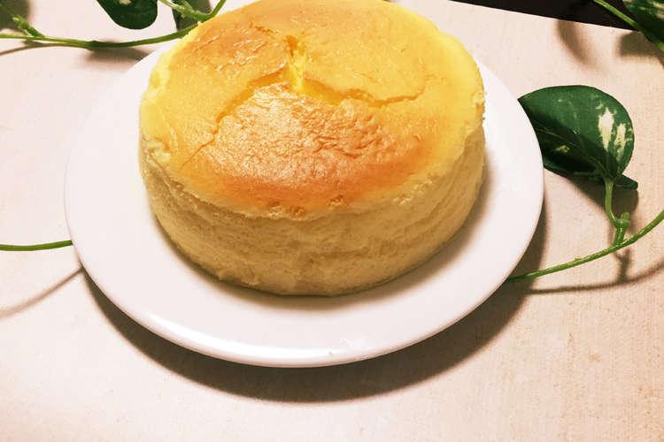 ケーキ スフレ 簡単 チーズ ふわふわ チョコチーズのスフレケーキ