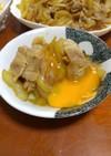 ☆豚バラ肉と玉ねぎのすき焼き風☆